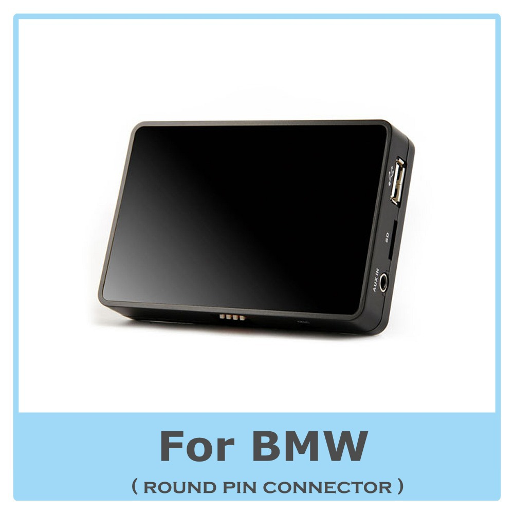 USB AUX MP3 Music Player Digital CD Changer Adapter for BMW E39 E36 E46 E38 Z3 Z8 K 1200LT Car Stereo(China (Mainland))