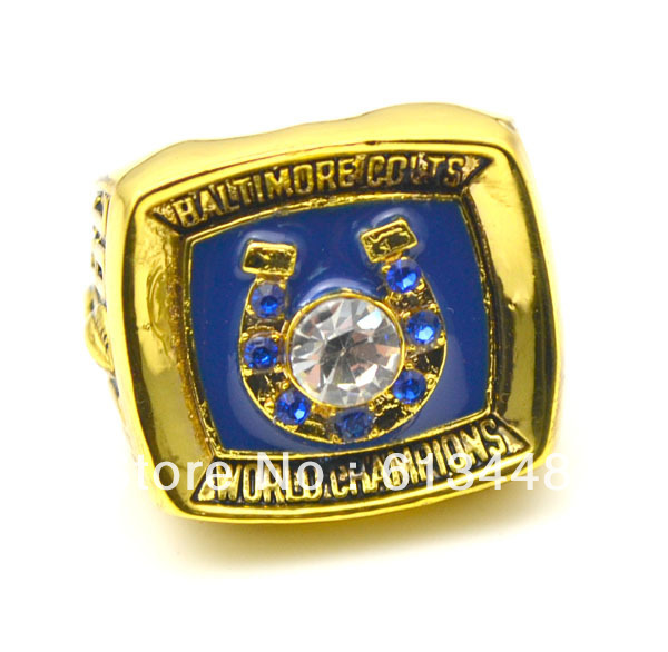 Free shipping excellent design replica 1970 Baltimore colts super bowl sports championship rings(China (Mainland))