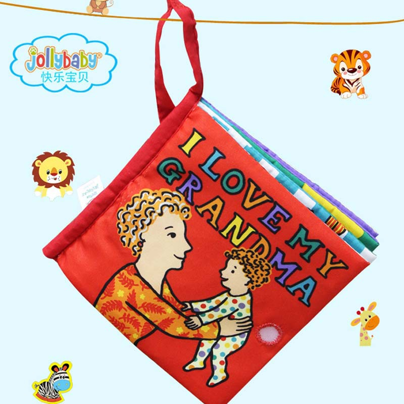 Baby cloth book education baby toys three-dimensional tactile child intelligence educational development - Madge's store