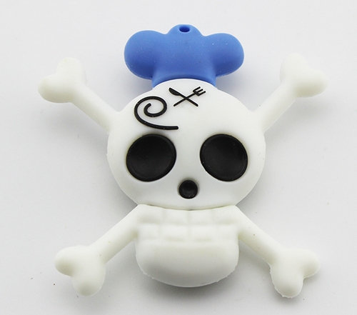 4GB 8GB 16GB 32GB Cartoon Skull Skeleton Pirate King USB 2.0 flash drive memory pen disk(China (Mainland))