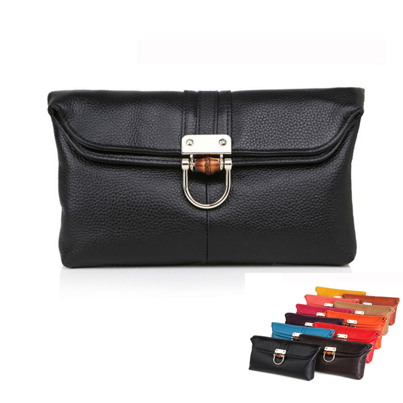 leather womens day clutch bags layer of cowhide leather womens small shoulder bags fashion clutches lady 2016 new<br><br>Aliexpress