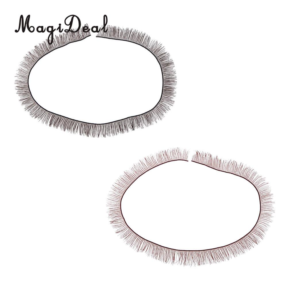 MagiDeal 1Pc Cute Charming BJD Dolls Big Pretty Eye Make Up Eyelashes Strip for Party Dancing Show Stage Acce Children Girl Toy