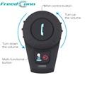 2016 Updated FM function Bluetooth Intercom Motorcycle Helmet Bluetooth Headset Full Duplex intercomunicador bluetooth moto
