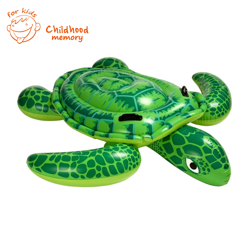 Little Turtle Children Inflatable Water Toys Children's Inflatable Swimming Pool Toys 150*127(China (Mainland))