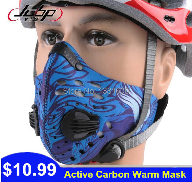 Brand Activated Carbon Masks Bicycle Dust Prevention Face Mask Waterproof Respirator Cycling Gas Mask Dustproof Riding Equipment(China (Mainland))
