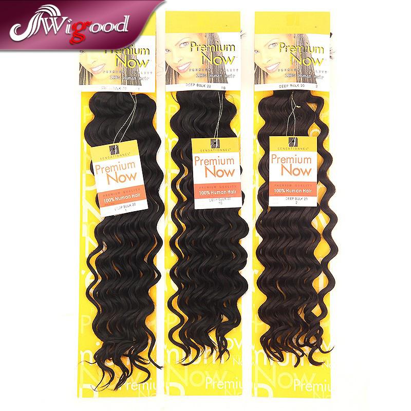 "Senegalese Twist Hair Hair Extension Curly 20"" Premium Now Hair Wave Deep Bulk For Braiding Ombre Kanekalon Braiding Hair Wigood(China (Mainland))"