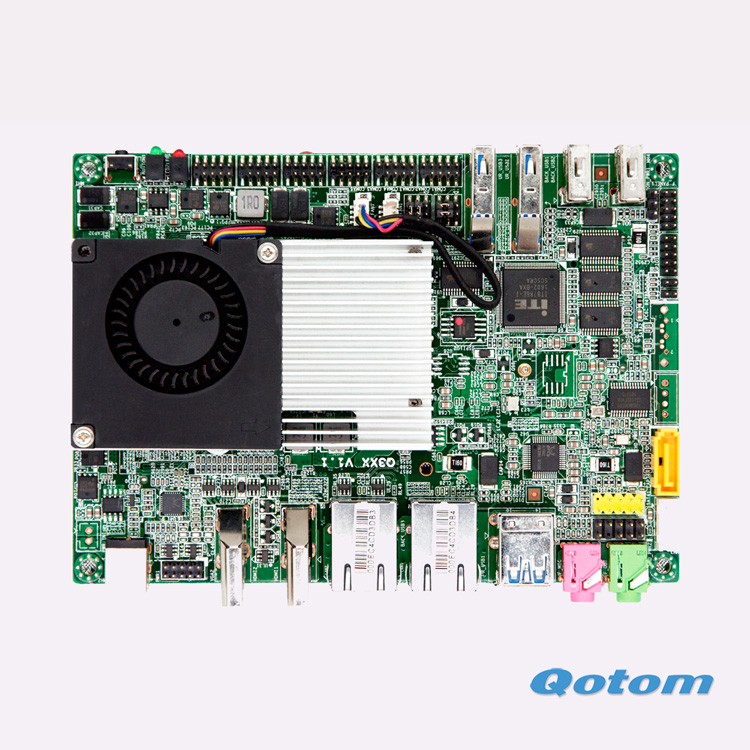 6*COM Dual Lan Celeron 3215U on board Mini motherboard GPIO Suitable For POS Machine ATM TV BOX(China (Mainland))