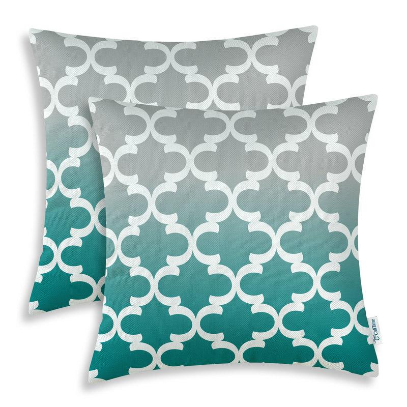 Online get cheap teal decorative pillows aliexpresscom for Cheap gray throw pillows