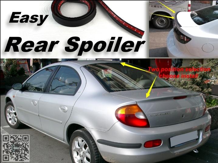 Root / Rear Spoiler For Chrysler Neon Trunk Splitter / Ducatail Deflector For TG Fans Easy Tuning / Free Modeling<br><br>Aliexpress