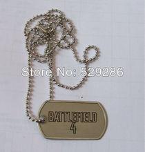 custom design dog tag,with ball chain rope,dog tag ,BATTLE FLELD dog tag(China (Mainland))