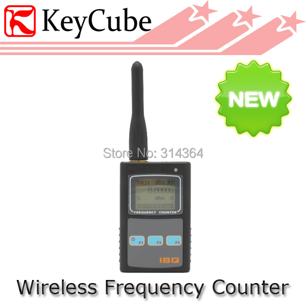IBQ101 New Portable Handheld Frequency Counter Bugs RF Wireless Camera Scanner Detector 50MHz-2600MHz Radio Tester(China (Mainland))