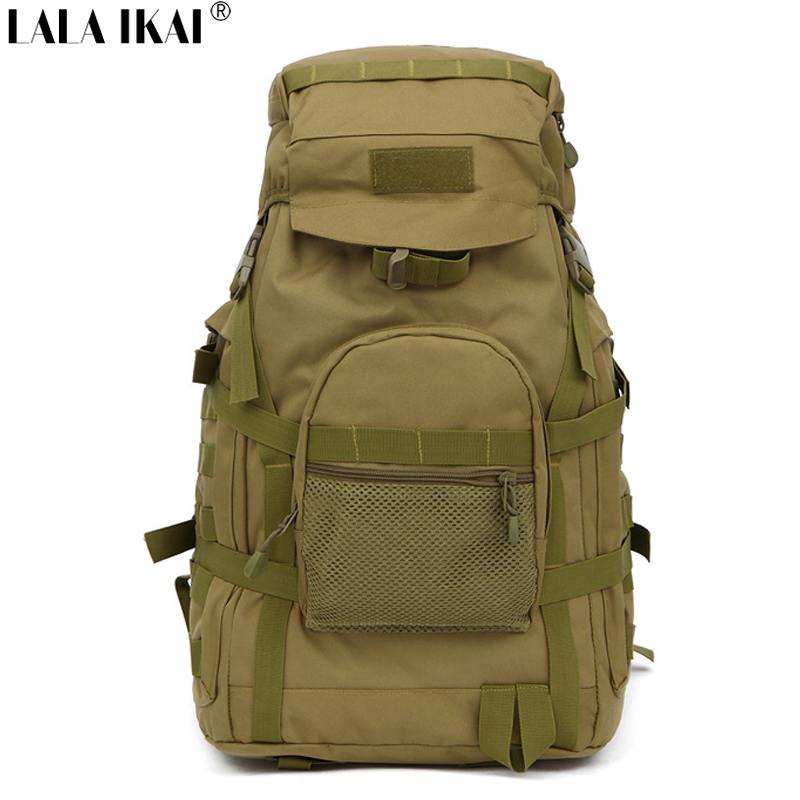 Camping Backpack Men Outdoor Sport Hiking Climbing Casual Nylon Backpacks Men Travel Tactical Army School Backpack YIN0135-5