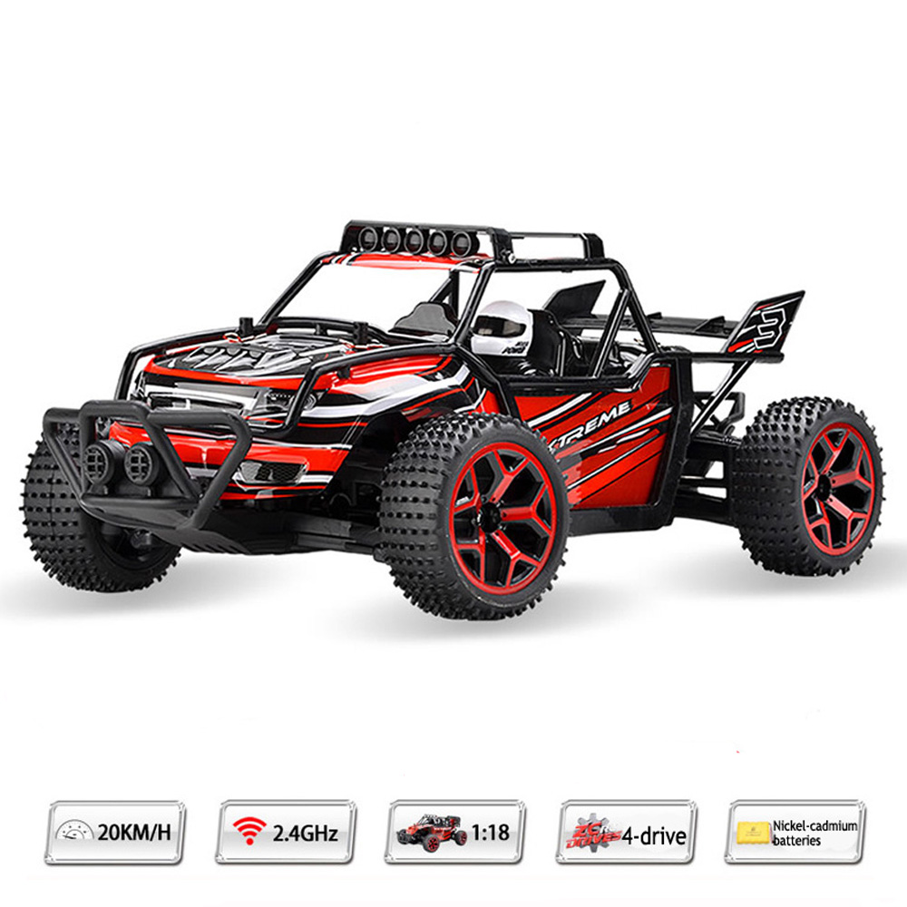 High Quality RC Car Drift 4WD 20Km/H 1/18 2.4Gh Off-Road Buggy Remote Control Toys For Kids VS A959(China (Mainland))