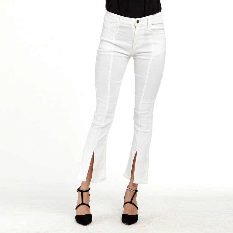Online Get Cheap White Flare Jeans for Women -Aliexpress.com ...