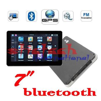 BY DHL OR EMS 10 pieces no profit  Hot Selling!7 inch GPS Navigation with Bluetooth AV-IN 4G Free World Map