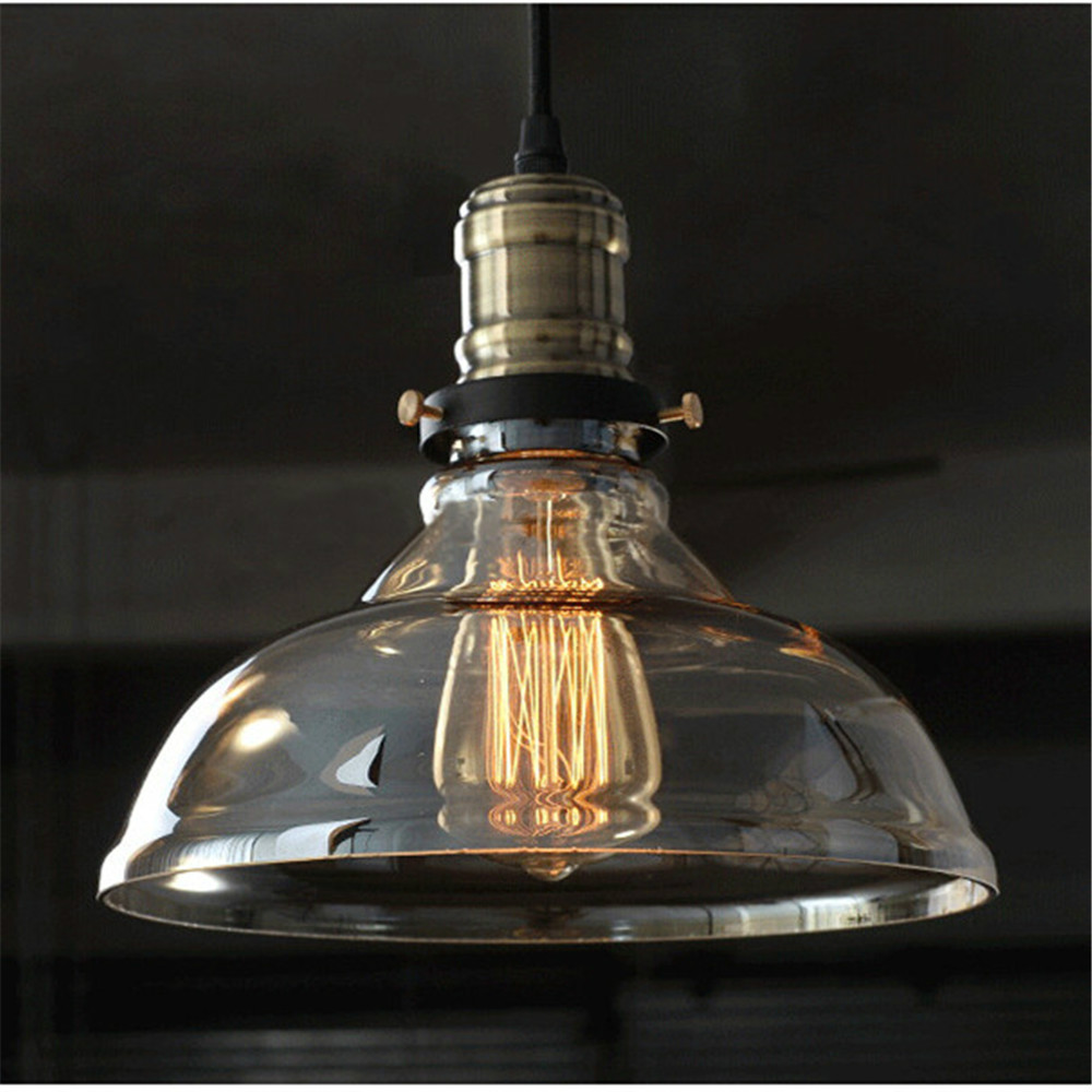 European modern style hanging pendant lights lamps retro for Retro light fixtures kitchen