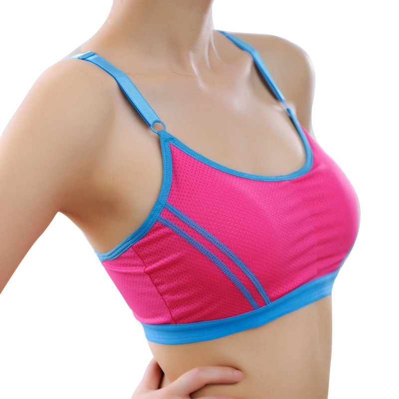 Sexy Women Stretch Bra Lady Casual Sports Bras Seamless Breathable Push Up Fitness Bras Leisure(China (Mainland))