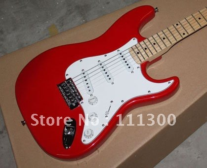 best New Musical Instruments red Beginners Electric Guitars