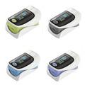 Color Random 1PCS Portable Hign Quanlity Finger Pulse Oximeter Fingertip Monitor Blood Oxygen SpO2 Monitor Health