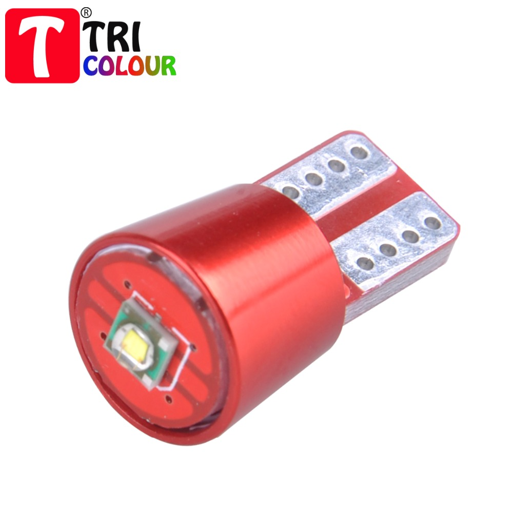 4pcs License plate light T10 194 168 w5w 1 LED Cree Pure White Canbus Error Free Automobiles reading Lamp bulbs #LB145(China (Mainland))