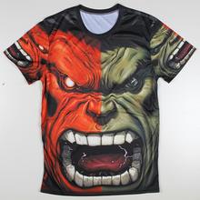 Summer Camiseta 3d T Shirts Mens Superhero Tops Hulk Tee Shirt Homme Captain American Tshirts Superman Ironman Funny Tshirt
