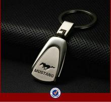 Car Keychain For Mustang Keychain Car Metal Keyrings Mustang Emblems Car Logo Key Chain Ring For Mustang(China (Mainland))