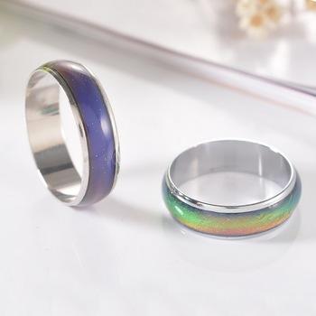Ювелирных украшений цвет изменение настроения кольца чувство эмоция кольца для женщин ...