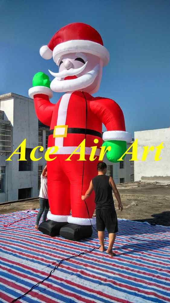 Popular outdoor lighted santa claus buy cheap