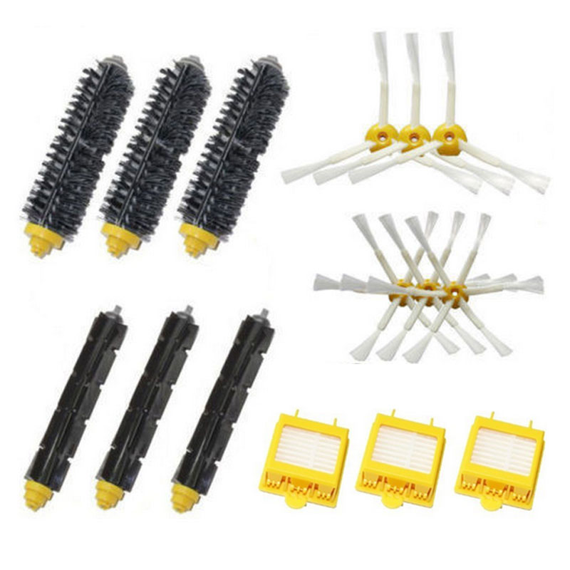Bristle Brush Flexible Beater Brush Replacement Tool Kit Fit for iRobot Roomba 700 Series 760 770 780 790 Free Shipping(China (Mainland))