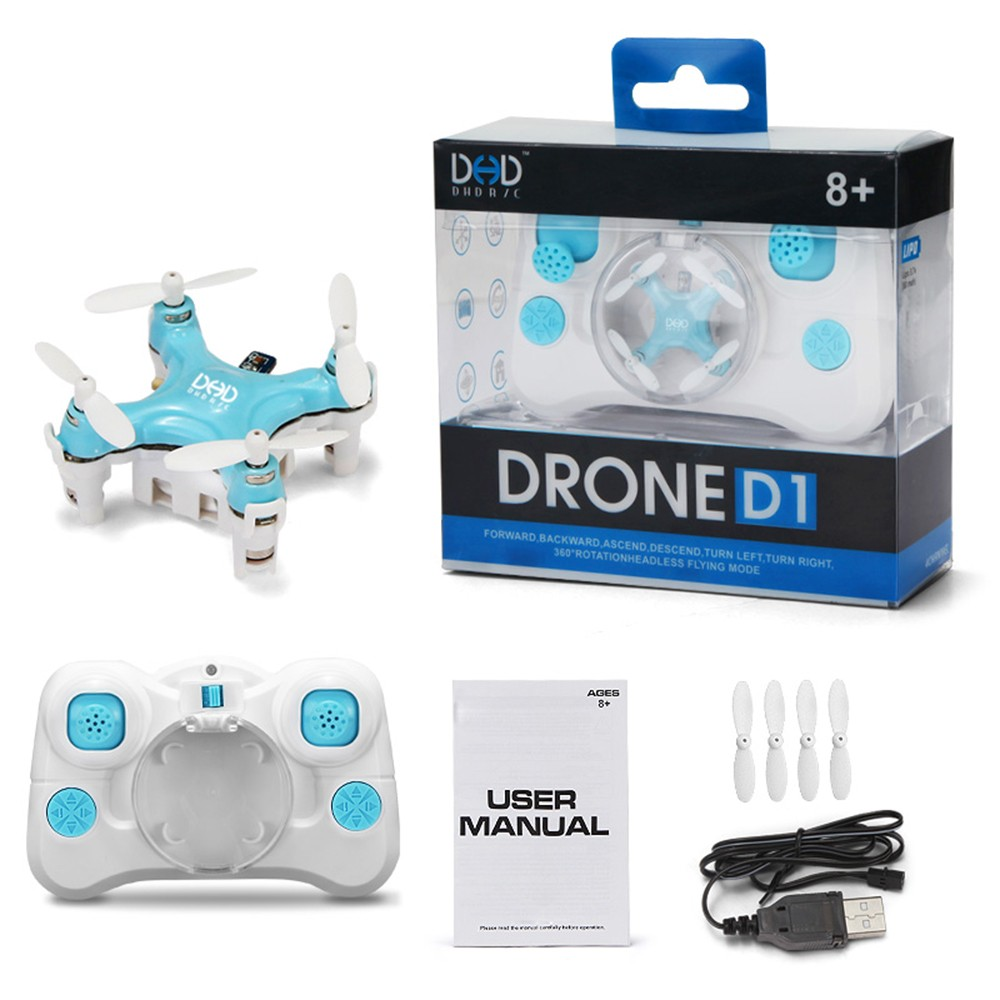 F16227/8 JJRC DHD D1 Supper Mini Pocket Drone 2.4G 4CH Smallest RC Helicopter Headless Mode Gyro RC Quadcopter(China (Mainland))