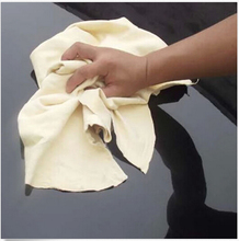 Hot Big Size Chamois Leather Car Cleaning Cloth Washing Suede Absorbent Towel(China (Mainland))