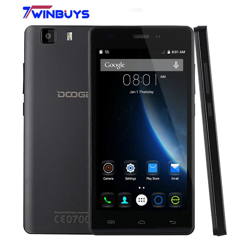 DOOGEE X5/DOOGEE X5 Pro 4G FDD LTE Mobile Phone 5.0inch Android 5.1 1.3G Quad Core 1GB/2GB RAM+8GB/16GB ROM 2.0MP+5.0MP 2400MAH(Hong Kong)