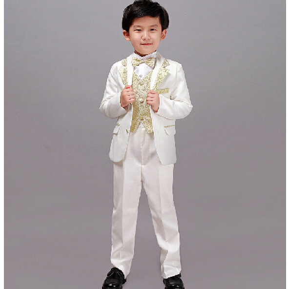 Children suits boy suit flower girl dresses wedding suit for Boys dress clothes wedding
