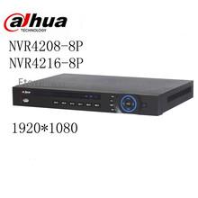 Buy original English version Dahua NVR 8ch 16 ch 1U Network Video Recorder NVR4208-8P NVR4216-8P 1 HDMI 1 VGA 8 PoE ports for $279.99 in AliExpress store