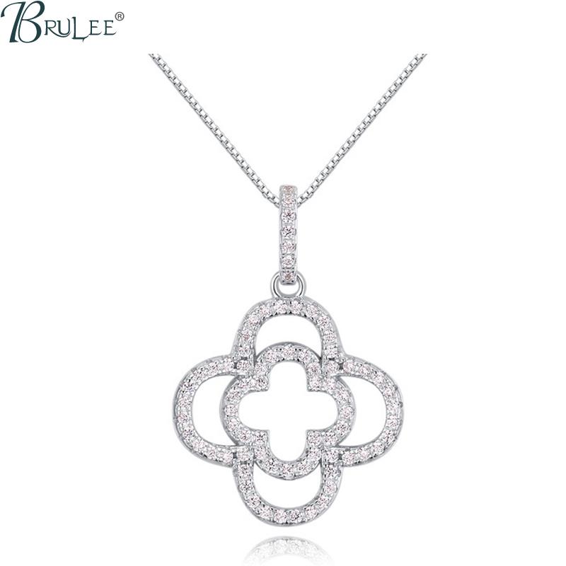 2016 New Fashion luxury S925 Silver Necklace Swarovski Elements Crystal Flower necklace Pendant Wedding Jewelry Wholesale(China (Mainland))