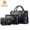 New Brand Composite Bag Women Handbags PU Leather Messenger Bags Design Hot Style Ladies Tote Bag