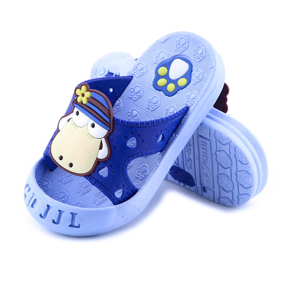 2017 New Children's Slippers 1-6 year old Baby Boys Girls Cute Sheep Pattern Bathroom Antislip Sandals Kids Cool Shower Shoes