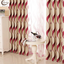 byetee High Quality European Finished Products Living Room Curtain Window Screening Strip Luxury Curtain Designs(China (Mainland))