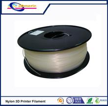 Transparent PA Nylon Filament Consumables Material For Makerbot Mendel Printrbot Sumpod/UP 1.75mm 3mm 1KG 3D Printer Filament