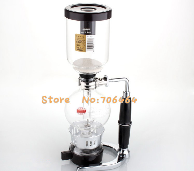 Vacuum Coffee Maker Single Cup : 3 cups Siphon coffee maker Syphon coffee maker vacuum coffee brewer siphon coffee machine ...