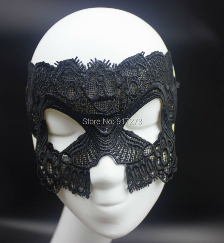 2016 Black Cat Face Maks Design Lace Masquerade Masks Fancy Dress Valentine Days Party Prop - Hangzhou Ineyes Export Trade Co., Ltd store