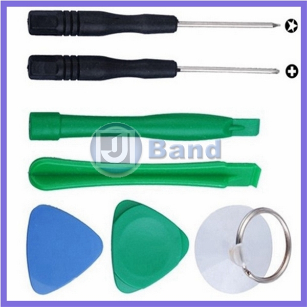 2100sets/lot Premium Repair Tools Opening Pry Tool Kit 7 in 1 Screwdriver Picks For Samsung For HTC For Blackberry(China (Mainland))