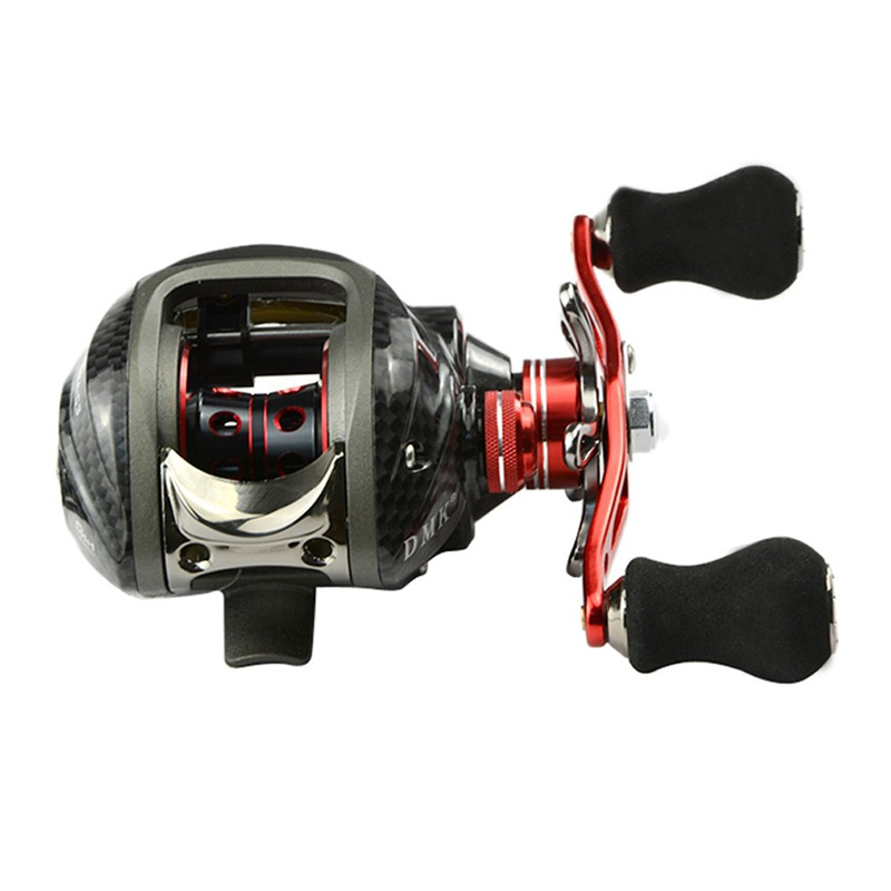 High Quality 12BB 6.3:1 Right Hand Baitcasting Fishing Reel Bait Casting Reels Fishing Reels Saltwater Red US#V<br><br>Aliexpress