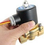 """Free Shipping 5PCS 3/8"""" Electric Solenoid Valve 110-V AC Air Water 2W160-10 EPDM(China (Mainland))"""