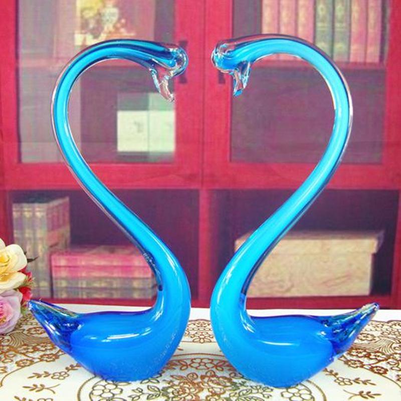 Online kaufen gro handel schwan glas aus china schwan glas for Grosshandel wohnaccessoires dekoration