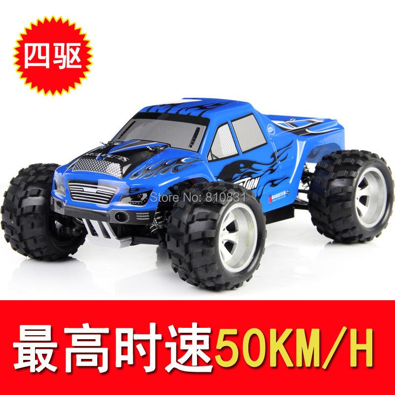 Фотография A979 Weili 2.4G high-speed four-wheel drive full-scale off-road remote control car stunt car model toy car