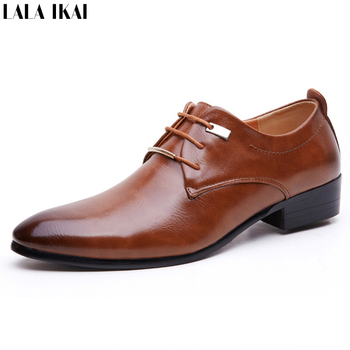 2015 Hot Sale Men Dress Shoes Soft Leather Pointed Toe Classic Fashion Business Oxford Shoes for Men Derby Shoes XMC0165-5