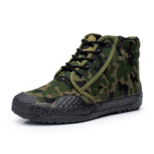 2016 New Arrival Autumn Camouflage Work Safety Men Shoes,Plus Szie 39- 45 Flats Ankle Men Boots