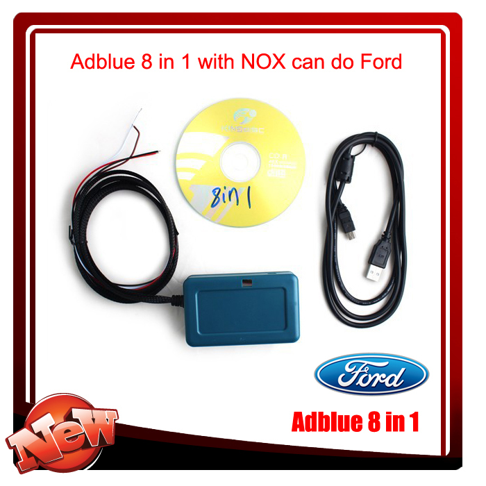 2015 AdBlue Emulator with NOx sensor adblue emulator 8 in 1 for for-d adblue 8in1 and other 7 kinds truck(China (Mainland))