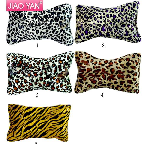 50 pcs/lot New Leopard Print Soft Hand Cushion Pillow Rest For Nail Art Manicure Wholesales Free UPS/DHL/ FedEx shipping(China (Mainland))
